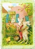 PUNCH STUDIO イースター グリーティングカード  <ウサギ×ひよこ>