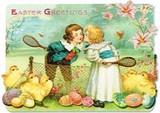PUNCH STUDIO イースター グリーティングカード  <ひよこ×テニス>