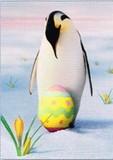 AVANTI PRESS グリーティングカード [イースター用] <ペンギン×たまご>