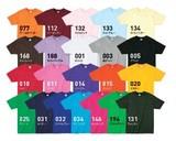 【ジュニア 150・160サイズ】ライトウェイトTシャツ/22色【オリジナル・ユニフォームにお勧め!】