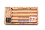 【絵本作家が吟味した描き心地のよい色鉛筆】おえかき色鉛筆(10本入り)