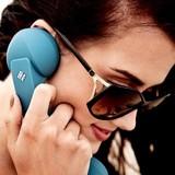 コードレスで会話が弾む、Bluetoothハンドセット。 POP PHONE BT - RETRO HANDSET -