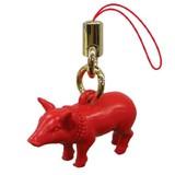 メス豚の運気上昇ストラップ レッド