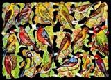 Ernst Freihoff スクラップシート <葉×鳥> *クロモス