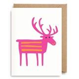 【Bengt & Lotta (ベングト&ロッタ)】 ミニグリーティングカード742 Deer