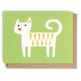 【Bengt & Lotta (ベングト&ロッタ)】 ミニグリーティングカード745 Cat