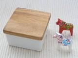 憧れのバターボックス【ハーフ】 アカシアの木蓋
