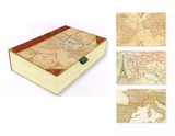 【限定品】PUNCH STUDIO パンチスタジオボックスカードセット 世界 地図 エッフェル塔