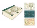 【限定品】PUNCH STUDIO パンチスタジオボックスカードセット 世界 地図 エッフェル塔 地球儀
