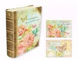 【限定品】PUNCH STUDIO パンチスタジオブックボックスカード バタフライ フラワー