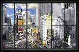 ■ポスター■610X915mm★ New York Window