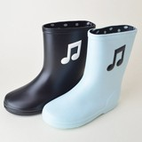 Fun Musical Note Rain Boots Baby Kids Ceremony