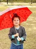 【定番】【折れにくい】ドット傘<ベビー・キッズ>入園入学
