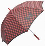 ◆2013A&W新作◆ 【リールリール・プチ】子供用雨傘 ギンガムプリントレース