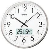 オフィスや教室に直径360mmの大型壁掛け電波時計<掛時計・景品・ノベルティ・アナログ・時計・クロック>