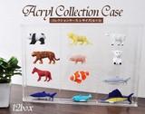 <店舗・ディスプレイ用品>大切なものを守る♪ アクリルコレクションケース(4×3) Lサイズ