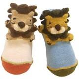 Plastic LION Pop Socks Baby Kids