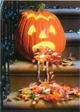 AVANTI PRESS グリーティングカード ハロウィン  かぼちゃ キャンディー