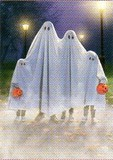 AVANTI PRESS グリーティングカード  ハロウィン  かぼちゃ 幽霊