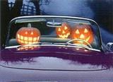 AVANTI PRESS グリーティングカード  ハロウィン  かぼちゃ 車