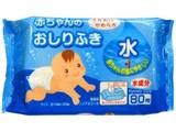 【ふんわりやわらか!ノンアルコール・無香料】赤ちゃんのおしりふき 80枚入