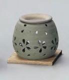 お部屋の消臭に!■常滑焼【茶香炉】茶香炉緑桜