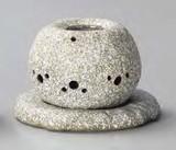 お部屋の消臭に!■常滑焼【茶香炉】山房石風電気式茶香炉