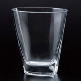 <特価商品>■【硝子/花瓶】クリア楕円花瓶