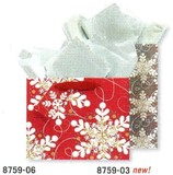 THE GIFT WRAP COMPANY ペーパーギフトバッグ <結晶>