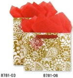 THE GIFT WRAP COMPANY ペーパーギフトバッグ <フラワー>