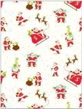 THE GIFT WRAP COMPANY ジャンボラッピングペーパー クリスマス <サンタ×トナカイ> 包装紙