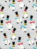 THE GIFT WRAP COMPANY ジャンボラッピングペーパー クリスマス <雪だるま> 包装紙