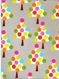 THE GIFT WRAP COMPANY ジャンボラッピングペーパー クリスマス <ツリー×カラフル> 包装紙