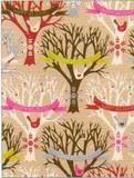 THE GIFT WRAP COMPANY ジャンボラッピングペーパー クリスマス <ツリー×鳥> 包装紙