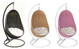【ハンギングチェアー】 【ラタン家具】 ハンギングチェア 楕円型(直送可能)