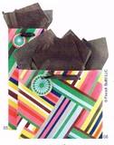 The Gift Wrap Company ペーパーギフトバック<ストライプ>