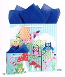 The Gift Wrap Company ペーパーギフトバック<カエル/フクロウ>