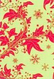 ROGER LA BORDE クリスマスカード<フラワー×結晶>