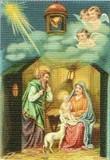 ART UNLIMTED クリスマスポストカード<キリスト生誕>