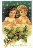 ART UNLIMTED クリスマスポストカード<子ども×星>