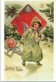 ART UNLIMTED クリスマスポストカード<天使>