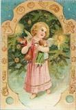 ART UNLIMTED クリスマスポストカード<天使×ツリー>