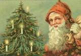 ART UNLIMTED クリスマスポストカード<サンタ×ツリー>