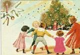 ART UNLIMTED クリスマスポストカード<子ども×ツリー>