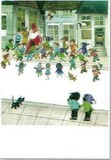 ART UNLIMTED クリスマスポストカード <サンタ×子ども>