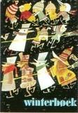 ART UNLIMTED クリスマスポストカード <雪だるま×ほうき>