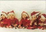 ART UNLIMTED クリスマスポストカード <子ども×ぼうし>