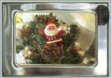 ART UNLIMTED クリスマスポストカード <サンタ×ツリー>