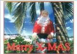 ART UNLIMTED クリスマスポストカード <サンタ×港>