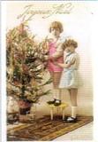 ART UNLIMTED クリスマスポストカード <ツリー×子ども>